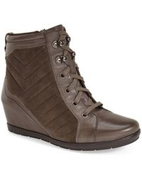 Earthies | 'limburg' Wedge Bootie | Lyst