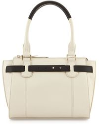Cole Haan Cameron Small Leather Satchel - Lyst