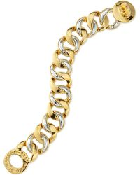 Marc By Marc Jacobs Katie Mixed Metal Chain Bracelet - Lyst