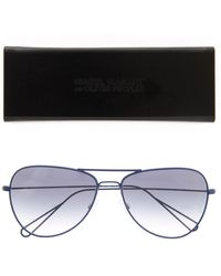 Isabel Marant X Oliver Peoples Aviator-Style Sunglasses - Blue