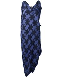 Vivienne Westwood Anglomania Blue Revival Dress - Lyst