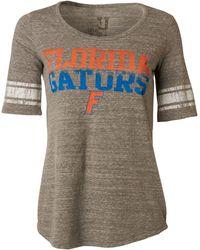 MYU Apparel - Women's Short-sleeve Florida Gators Sequin T-shirt - Lyst