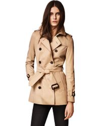 Burberry London Kensington Short Heritage Trench - Lyst