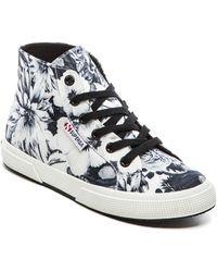 Superga Annabella Hi-Top Sneaker - Lyst