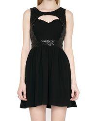 Pixie Market Magic Hour Sequins Dress - Lyst