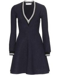 Victoria, Victoria Beckham Bouclé Dress - Lyst