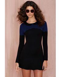 Nasty Gal Mod Bod Sweater Dress - Lyst