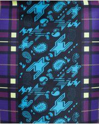 Mary Katrantzou Printed Pencil Skirt - Purple