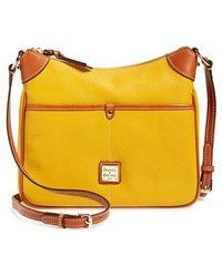 Dooney & Bourke 'Kimberly' Leather Crossbody Bag - Lyst