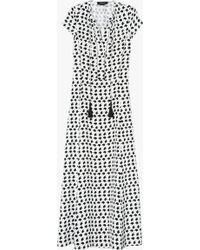 Derek Lam | Crescent Print Gown | Lyst