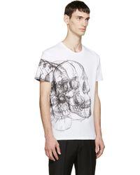 Alexander McQueen   Short Sleeve T-shirt   Lyst