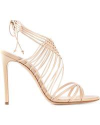 Casadei Strappy Sandals - Lyst