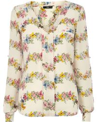 Oasis Butterfly Stripe Shirt - Lyst
