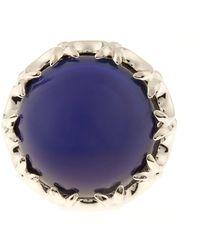Eddie Borgo - Dahlia Quartz & Silver-plated Mood Ring - Lyst