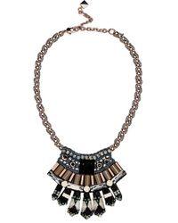 Nocturne 'elisa' Frontal Necklace - Black