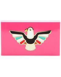 Charlotte Olympia Spirit Eagle Box Clutch - Lyst