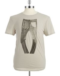 G-star Raw Jeans Graphic T Shirt - Lyst