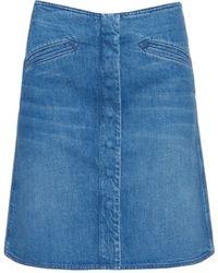 M.i.h Jeans The Bodiam Denim Skirt - Blue