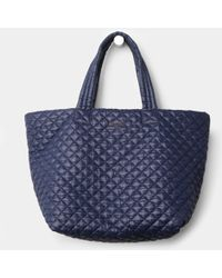 MZ Wallace Large Metro Tote Navy Oxford - Lyst
