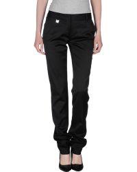 D&G Casual Pants black - Lyst