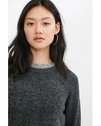 Mouchette - Jessica Mixed Stitch Pullover Sweater - Lyst