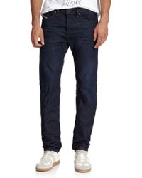 Diesel Buster Tapered-Leg Jeans blue - Lyst
