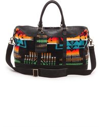 Pendleton, The Portland Collection Weekender Bag Chief Joseph Black - Lyst
