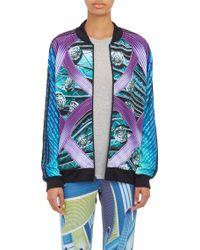 Mary Katrantzou Abstract Print Track Jacket - Lyst