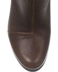 Rag & Bone Newbury Textured-Leather Knee Boots - Brown