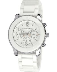 Juicy Couture Stainless Steel Watch - Lyst