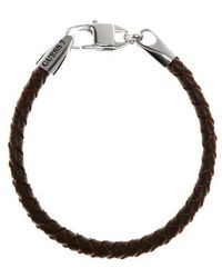 Guess | Tough Leather Bracelet | Lyst
