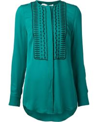 Veronica Beard Embroidered Tunic - Lyst