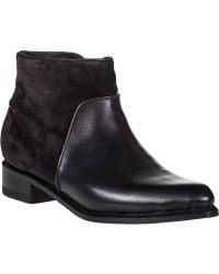 Rag & Bone Aston Ankle Boot Asphalt Leather black - Lyst