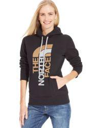 The North Face Half-dome Logo Hoodie Sweatshirt - Lyst