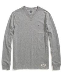 Tommy Hilfiger Long Sleeve Solid Tee - Lyst