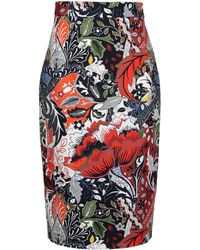 Jonathan Saunders 34 Length Skirt - Lyst