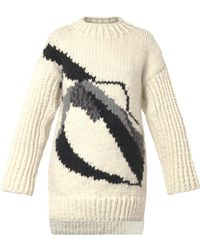Giles Couture Oversized Wool Sweater - Lyst