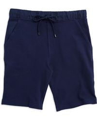 Michael Kors Waffled Athletic Shorts - Lyst