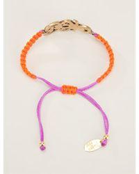 Katerina Psoma - Bejewelled Friendship Bracelet - Lyst