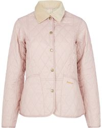 Barbour - Light Purple Summer Liddesdale Jacket - Lyst