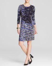 Nic + Zoe Nic+Zoe Utopia Abstract Print Dress - Lyst