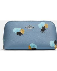 COACH   Cosmetic Case 17 In Floral Print Coated Canvas   Lyst