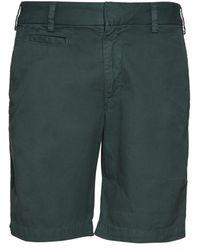 Save Khaki Twill Bermuda Shorts green - Lyst