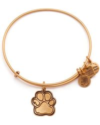 Alex And Ani Prints Of Love Expandable Wire Bangle Charity by Design Collection - Lyst