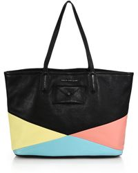 Marc By Marc Jacobs Metropolitan Colorblocked Tote - Lyst