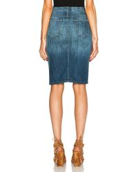 Current/Elliott The Highwaist Pencil - Lyst