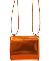 Givenchy Mirrored Mini Pandora Box Shoulder Bag - Lyst