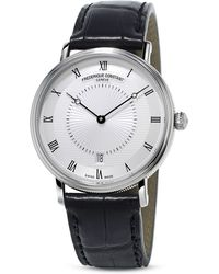 Frederique Constant - Slimline Classics Automatic Watch, 39Mm - Lyst