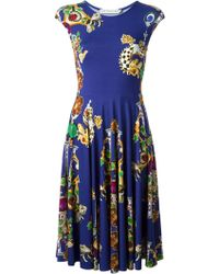 Mary Katrantzou Lanote Jersey Dress - Lyst
