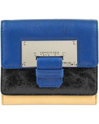Kenneth Cole Reaction  Metal Head Double Flap Indexer - Lyst